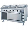 Marine Cooking Range w/Oven(6 Square Hot Plates)
