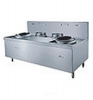Marine Induction Chinese Cooker(Double Wok)